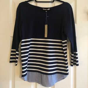 NWT 41 Hawthorn stripped tunic - size S